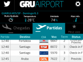 Aplicativo do GRU Airport