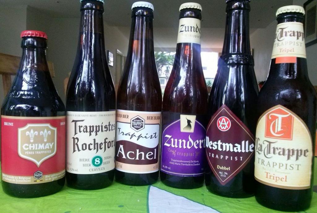 Rórulos de cerveja trapista