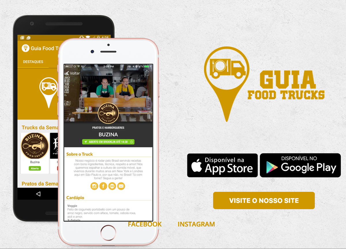 Food truck onde encontrar comida de rua com qualidade for Truck design app