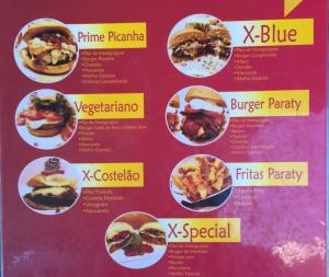 menu Paraty